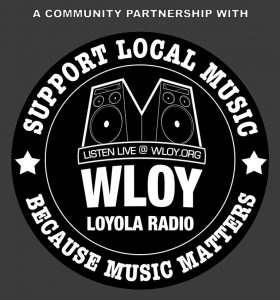 Community Partnership with WLOY Loyola Radio